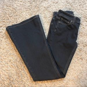 Free People Super Flare Jeans.